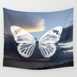 Butter wings Wall Tapestry