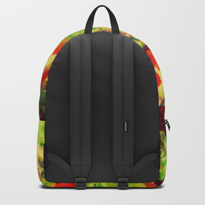 floral and textures Backpack