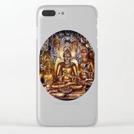 Gold Buddha Clear iPhone Case