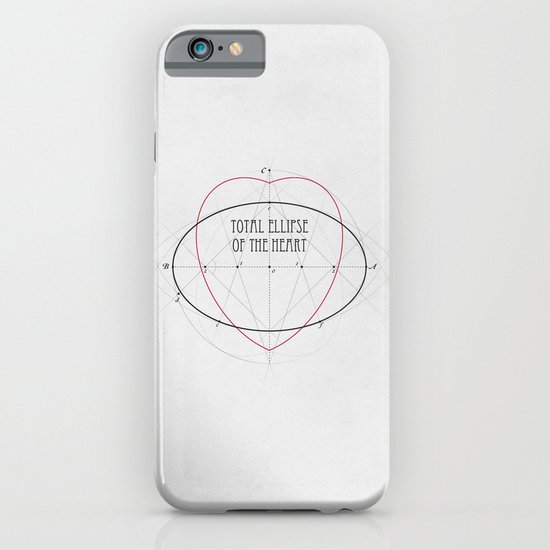 Total Ellipse of the Heart iPhone & iPod Case