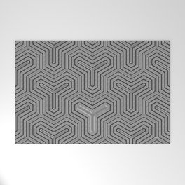 Odd one out Geometric Welcome Mat