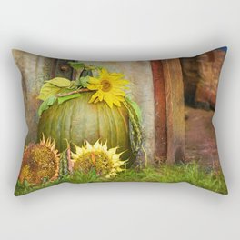 Near the barn door Rectangular Pillow