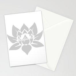 Mindfulness Lotus Stationery Cards