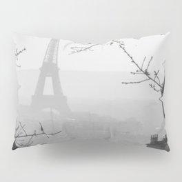 Winter in Paris Pillow Sham