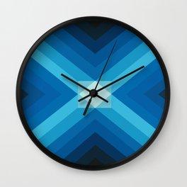 JUEGO DE AZULES Wall Clock