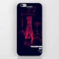 human iPhone & iPod Skins featuring Human by Frank Moth