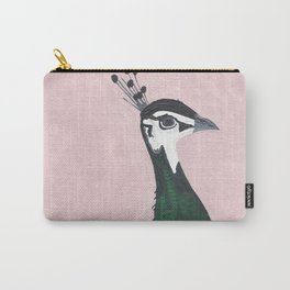 Young Peahen Carry-All Pouch