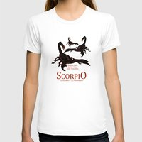 scorpio T-shirts featuring Scorpio by Adamzworld