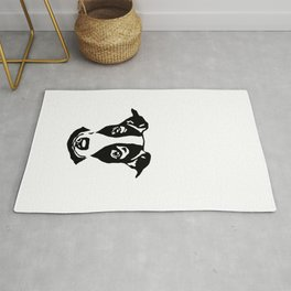 CHRISTMAS GIFTS OF JACK RUSSELL TERRIER GIFTS FROM MONOFACES IN 2020 Rug