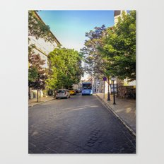 BUS IN BUDAPEST Canvas Print