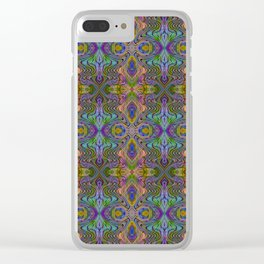 Tryptile 23 (repeating 1) Clear iPhone Case