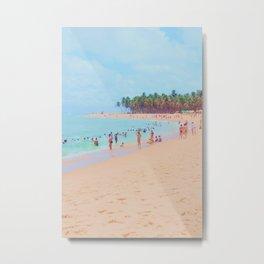 let's go to the brazilian beach Metal Print