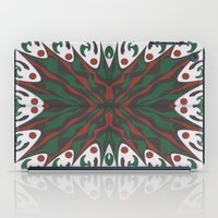 merry christmas iPad Cases featuring Merry Christmas by MissCrocodile63