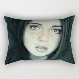 Ghosting of the Passing Innocence Rectangular Pillow