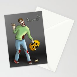 Brains? Stationery Cards