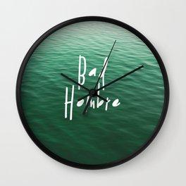 Proud Bad Hombre Wall Clock