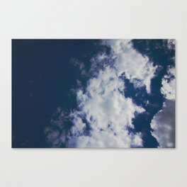 Wonky Clouds Canvas Print