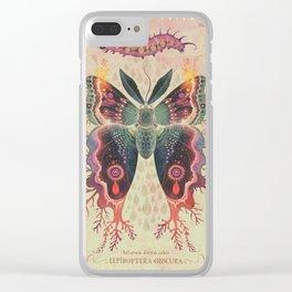 Saturnia divum orbis Clear iPhone Case