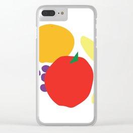 Digital still life—fruit Clear iPhone Case