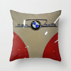 BMW Isetta Throw Pillow