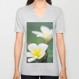 in the happy garden Unisex V-Neck