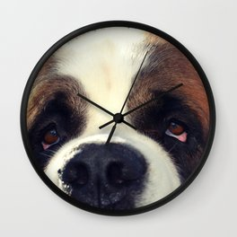 Happiness is My Dog Wall Clock