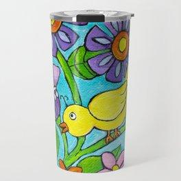 Springtime Series #5 Singing Bird Travel Mug