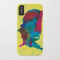 Watercolor U.S.A. Map Slim Case iPhone X