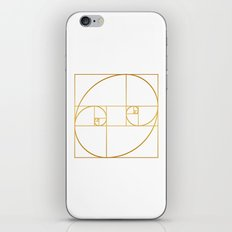 Golden Oval iPhone Skin