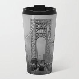 George Washington Bridge Traffic Travel Mug