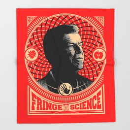 Walter Bishop - Fringe Science (RED) Throw Blanket