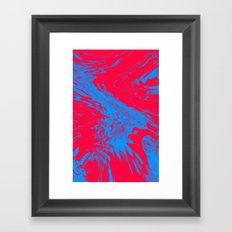 Fire and Ice Framed Art Print