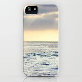 California Sunset over the Pacific Ocean iPhone Case