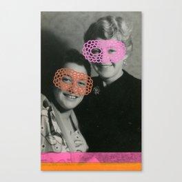 The Crochet Family 001 Canvas Print