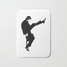 The Ministry of Silly Walks Artwork for Wall Art, Prints, Posters, Tshirts, Men, Women, Kids Bath Mat