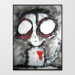 Bug Eyed Oddity Canvas Print