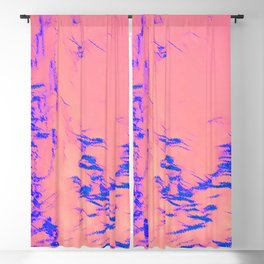 I See Beauty - Blue Hug Blackout Curtain