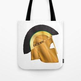 Roman Gladiator Helmet Tote Bag