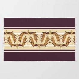 Moose Antler Crown Rug