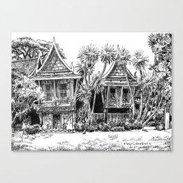 Jim Thompson House Canvas Print