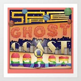Space Ghost Art Print