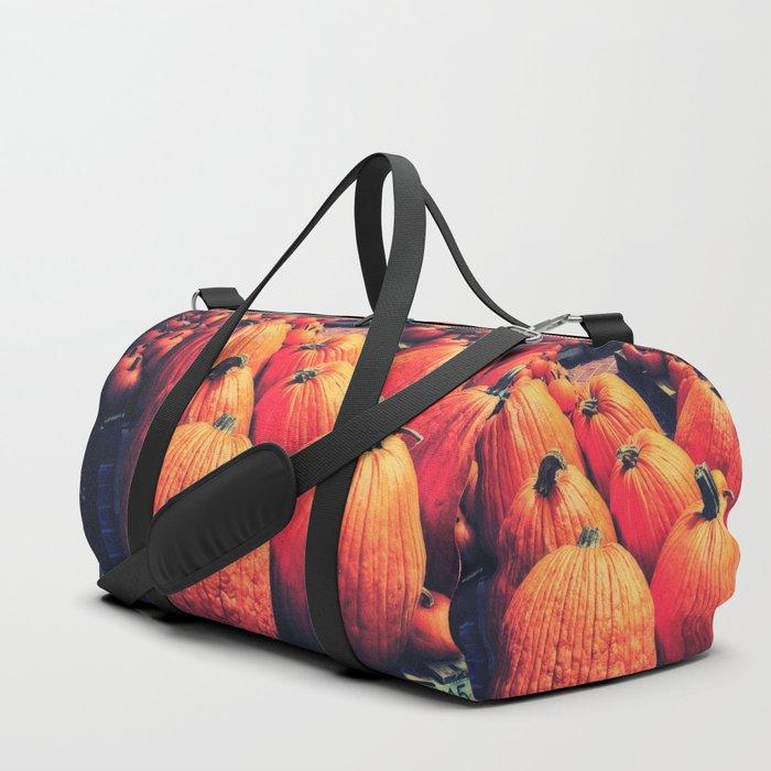 Pumpkins on a Pallet Duffle Bag