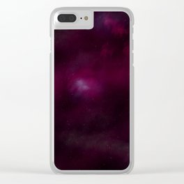 Des Moines: City of Stars Clear iPhone Case