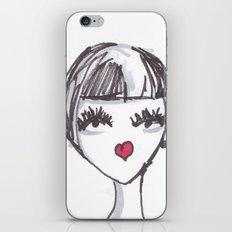 Art Deco Face No. 2 iPhone & iPod Skin