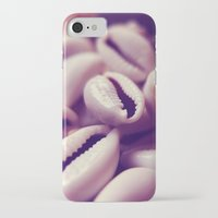shells iPhone & iPod Cases featuring Shells by Rafael&Arty