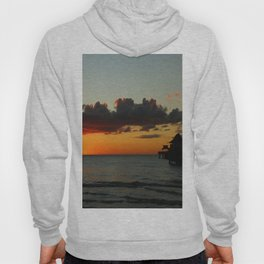 Naples Pier Sunset Hoody