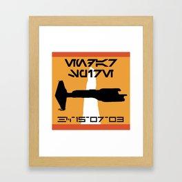 Endar Spire (KOTOR - Republic) Framed Art Print