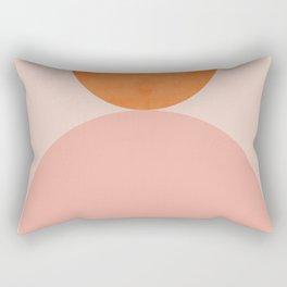 Abstraction_Balance_Minimalism_003 Rectangular Pillow