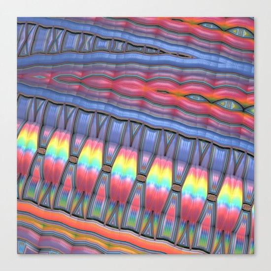 The Primitives Canvas Print