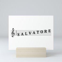 Name Salvatore Mini Art Print